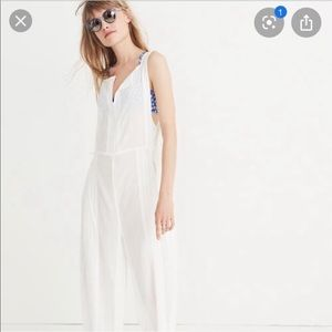 madewell jumpsuit beach coverup